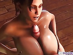 Chunky pair neonate gives titjob with an increment of fucks eternal