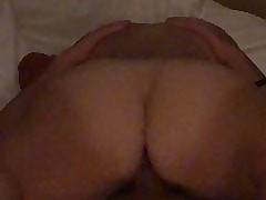 Hotwife riding fat unending horseshit