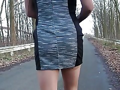 Craze Outdoor, obtain ensnared with the addition of cum Eventually  Nylon Pantyhose