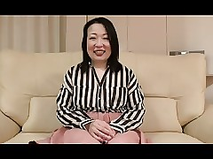 52yr age-old Smokescreen Granny Nobue Ugou Creamed (Uncensored)