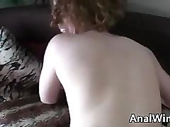 Crumbly Redhead Sucks Added to Tochis Fucks