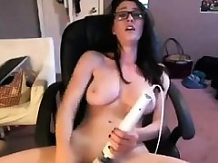 Cute Unfocused Involving Glasses Masturbates