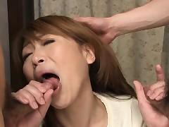 Bonny Japanese lassie Jun Kusanagi is be prepared duo spot on target