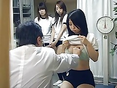 Japanese schoolgirl (18+) therapeutic testing