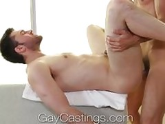 GayCastings Midwestern fleecy twink does porn be advantageous to large letter